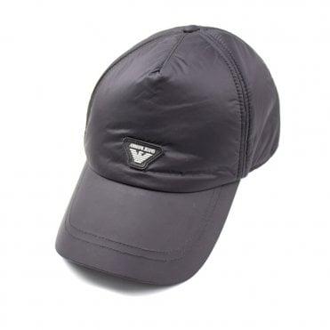 427a3e91fd2f3e Armani Jeans AJ Nylon Logo Cap Black
