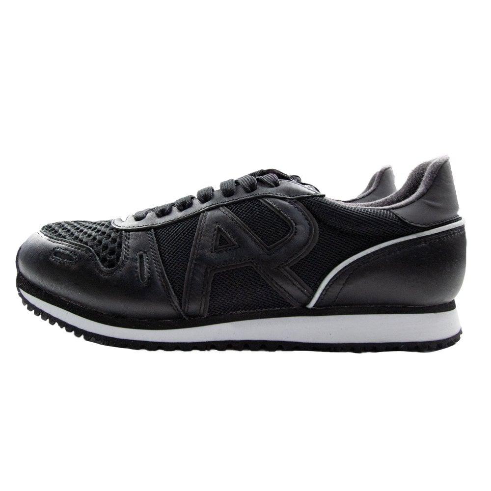 0adc35f8 Mesh Trainers Black