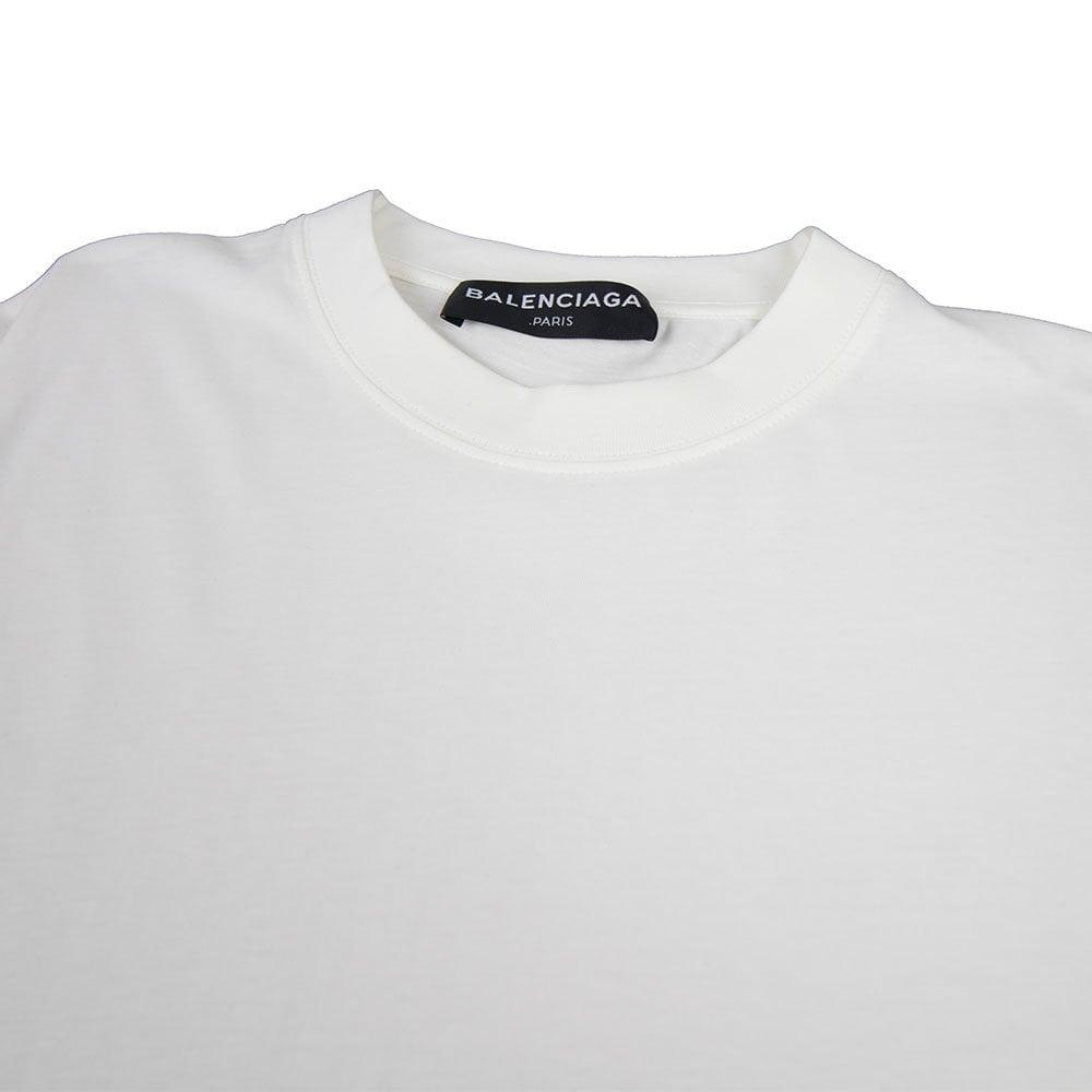 8e48241cae27 Balenciaga Back Logo T-Shirt White | ONU