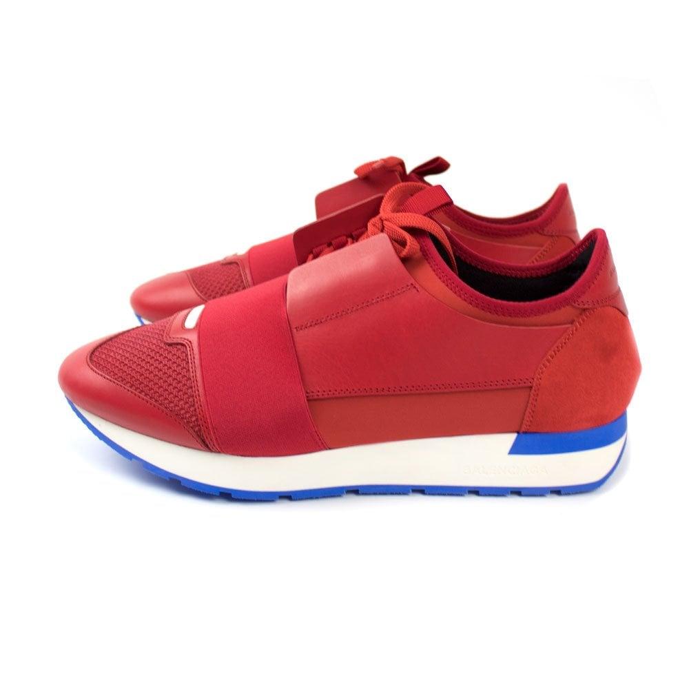 balenciaga race runners red