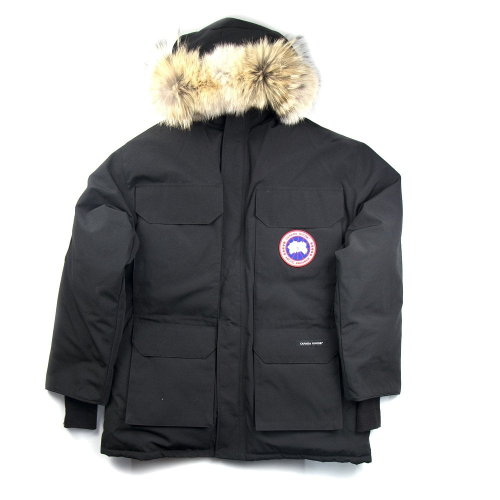 pretty nice cd622 1ab7d Expedition Parka Black