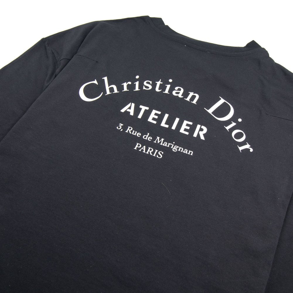 b5e163108 Christian Dior Atelier Logo T-shirt Black | ONU
