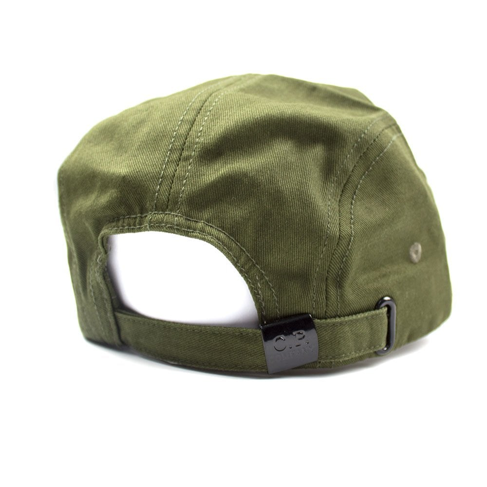 14cffa243 Embroidered Lens Logo Baseball Cap Khaki