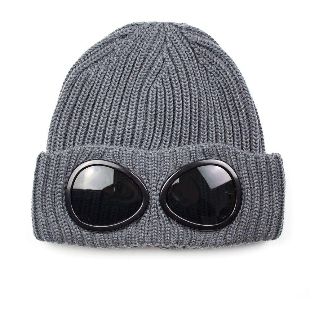 5e471fbd5 Goggle Winter Beanie Grey
