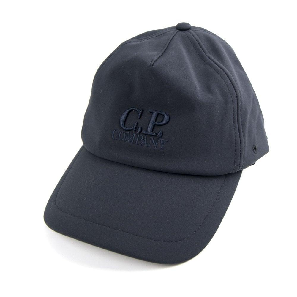 284caa3d6b2 CP Company Soft Shell Cap Navy