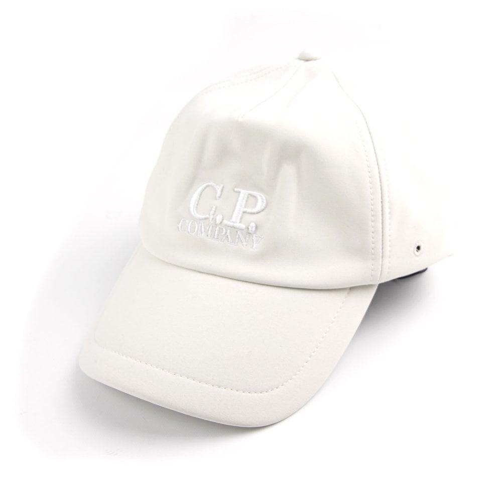 59a66b698bc CP Company Soft Shell Cap White