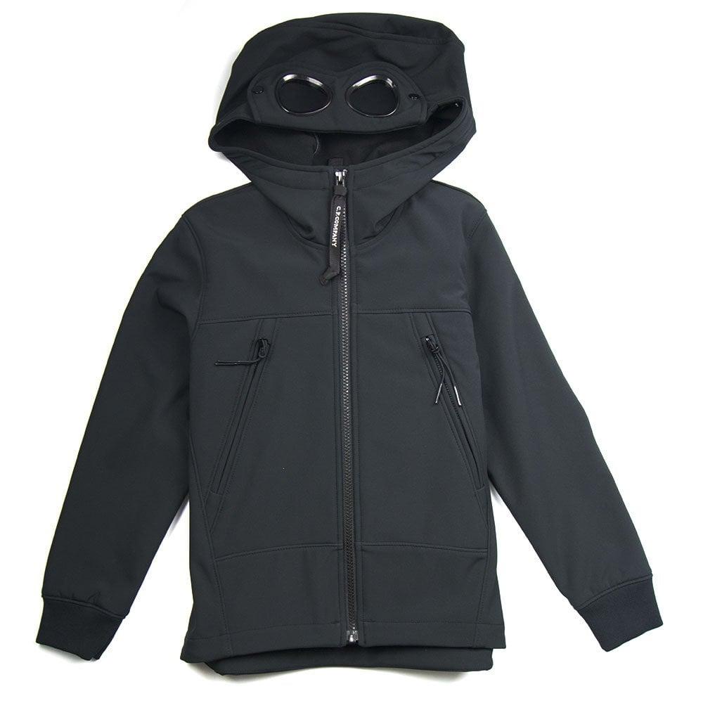 CP Company Undersixteen CP Company Undersixteen Soft Shell Jacket Black