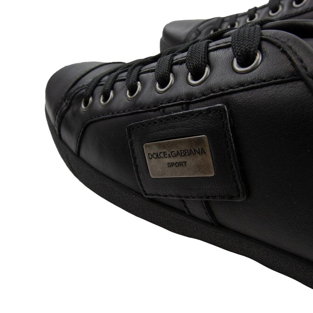 Dolce \u0026 Gabbana Sport Leather Sneaker