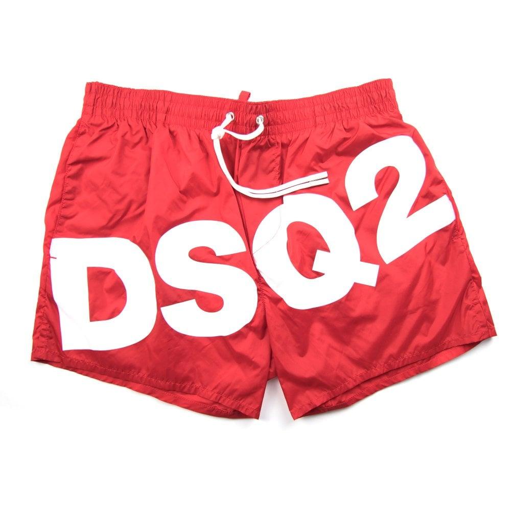 650cda16df Dsquared2 DSQ2 Swim Shorts Red/White | ONU