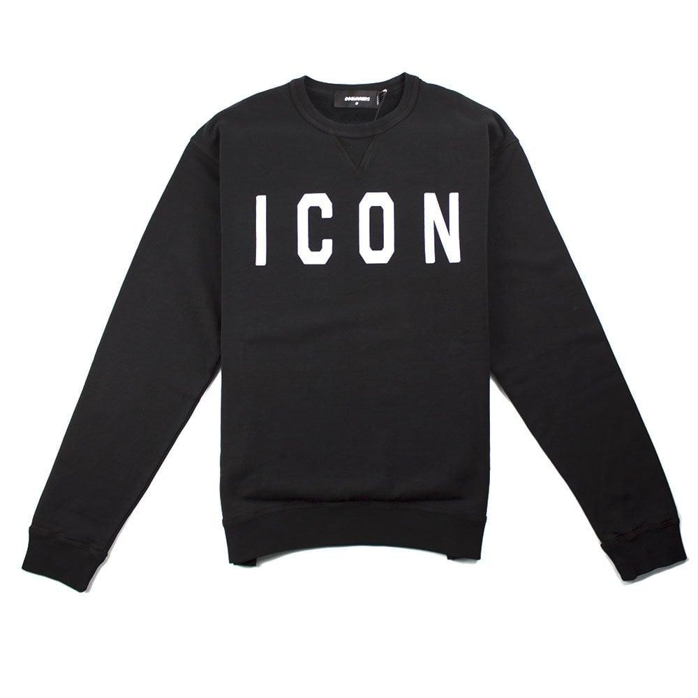 7a16fd7f Dsquared2 Icon Sweatshirt Black   ONU