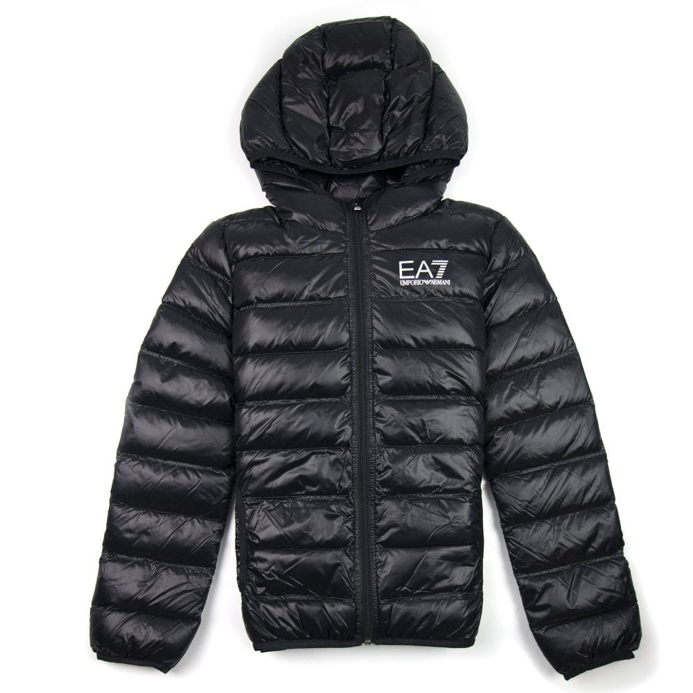 online sale discover latest trends low price sale EA7 Emporio Armani Down Puffer Jacket Black
