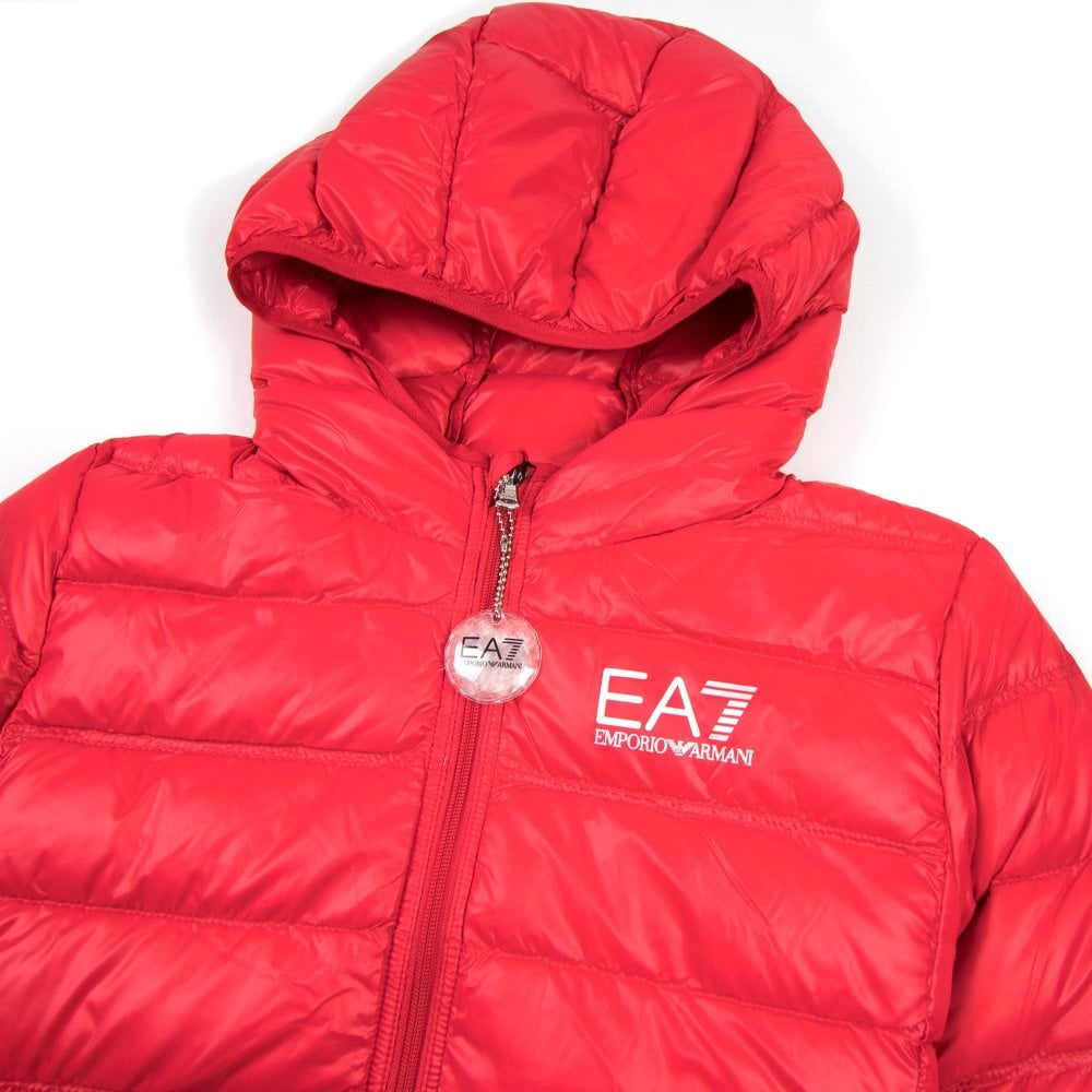d58d61834 EA7 Emporio Armani Down Puffer Jacket Racing Red