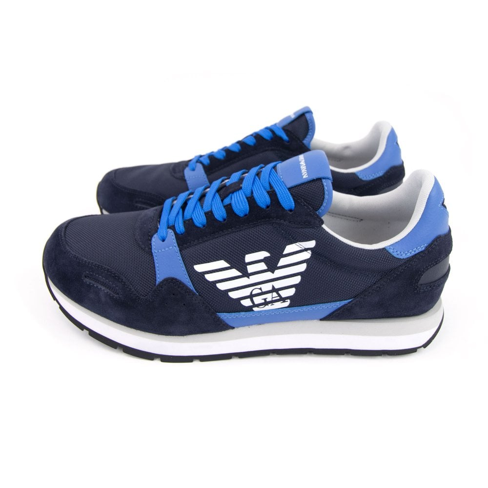 a610dc4c Eagle Logo Running Trainer Blue