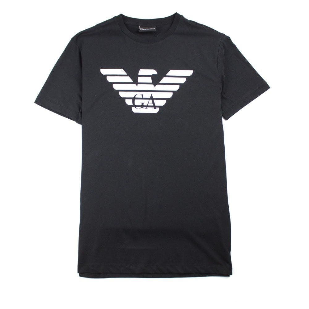 38faa924 Emporio Armani GA Eagle T-shirt Black   ONU