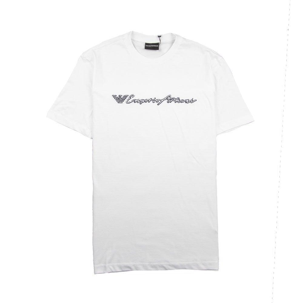 1160e5f05 Emporio Armani Signature T-Shirt White