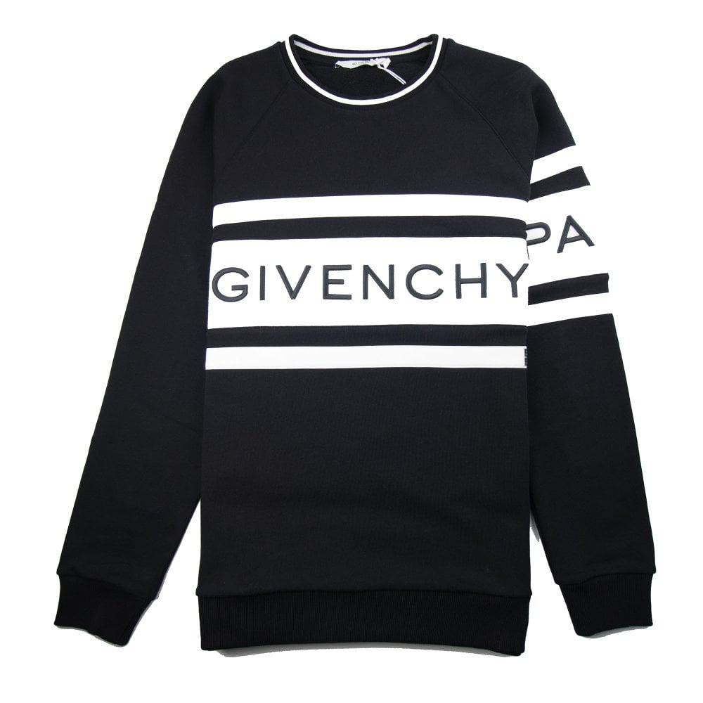 aead5ff6 Givenchy 4G Logo Sweatshirt Black/White | ONU
