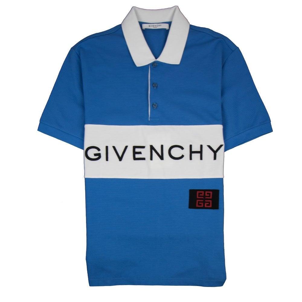 4395cdc2 Givenchy Logo Polo Blue   ONU
