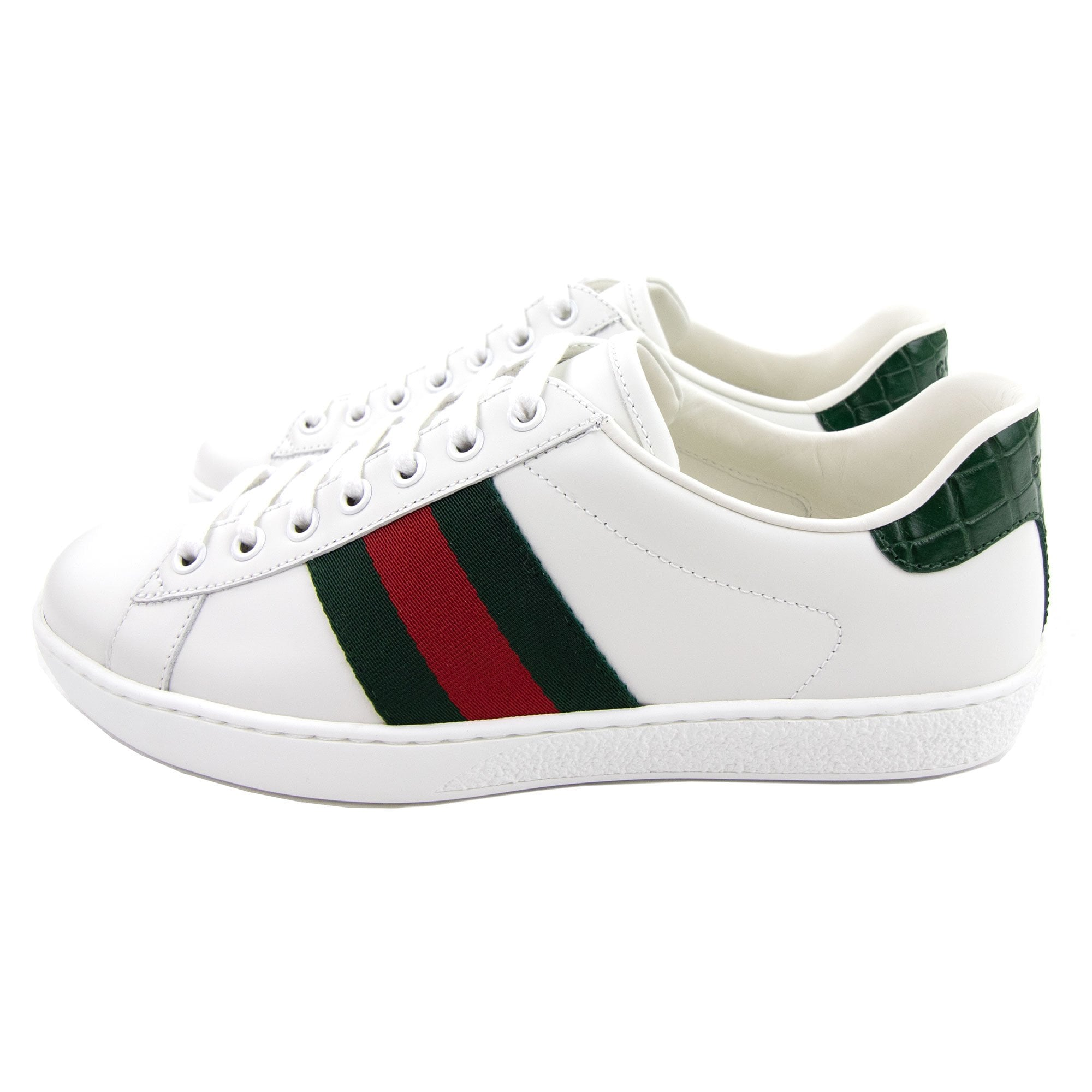 Gucci Ace Leather Sneaker White | ONU