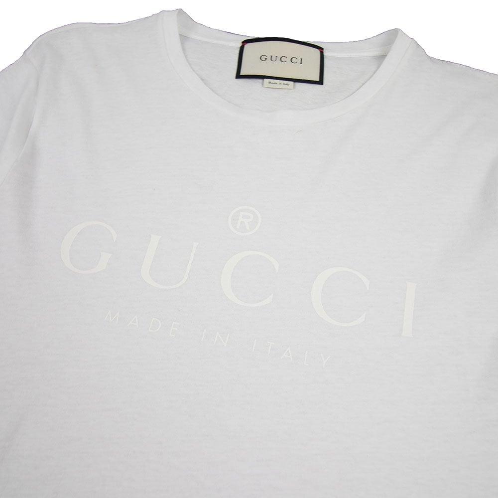 498f2250f Gucci Classic Logo T-shirt White | ONU