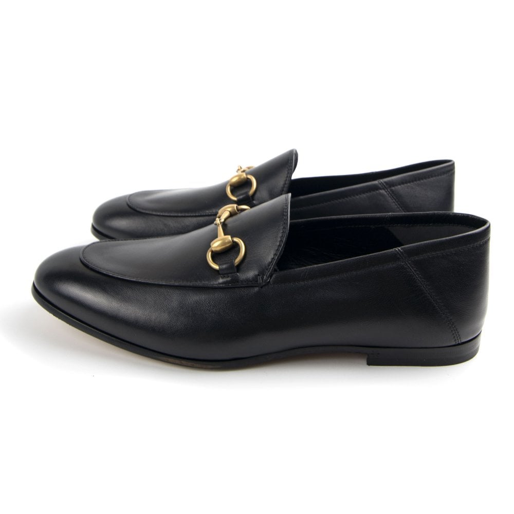 premium selection recognized brands sleek Gucci Gucci Horsebit Leather Loafer Black