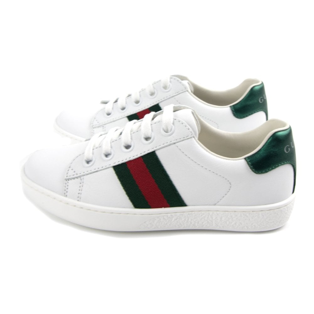 05543d1dd5 Ace Leather Sneaker White