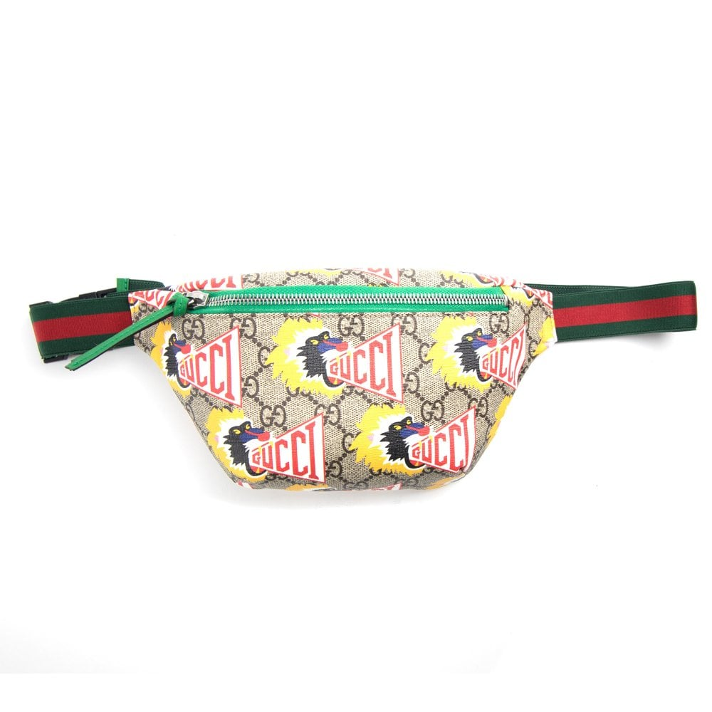 36b85faf6fd Gucci Junior Baboon Belt Bag Multi