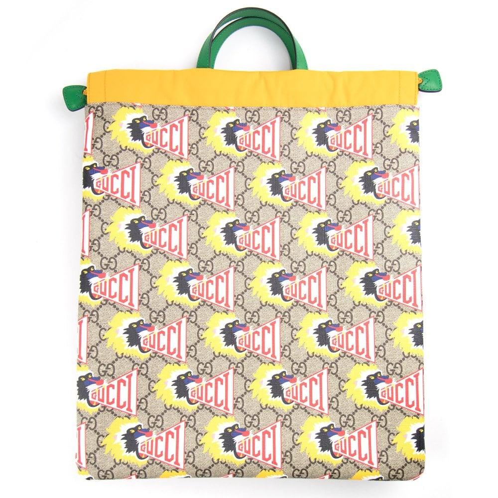 eabe218501b Gucci Junior GG Baboon Backpack Multi
