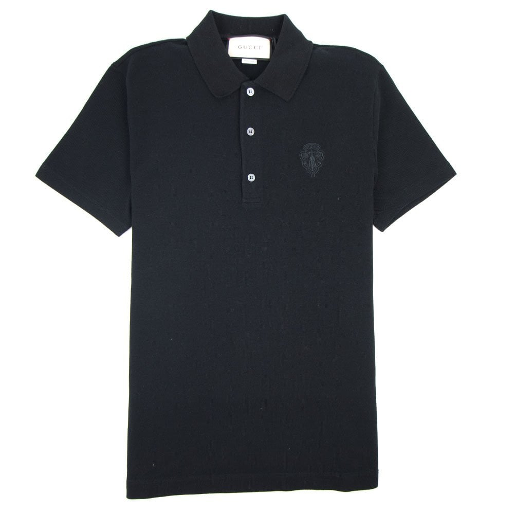 167e2c28ed97 Gucci Polo Shirt Black ✓ T Shirt Design 2018