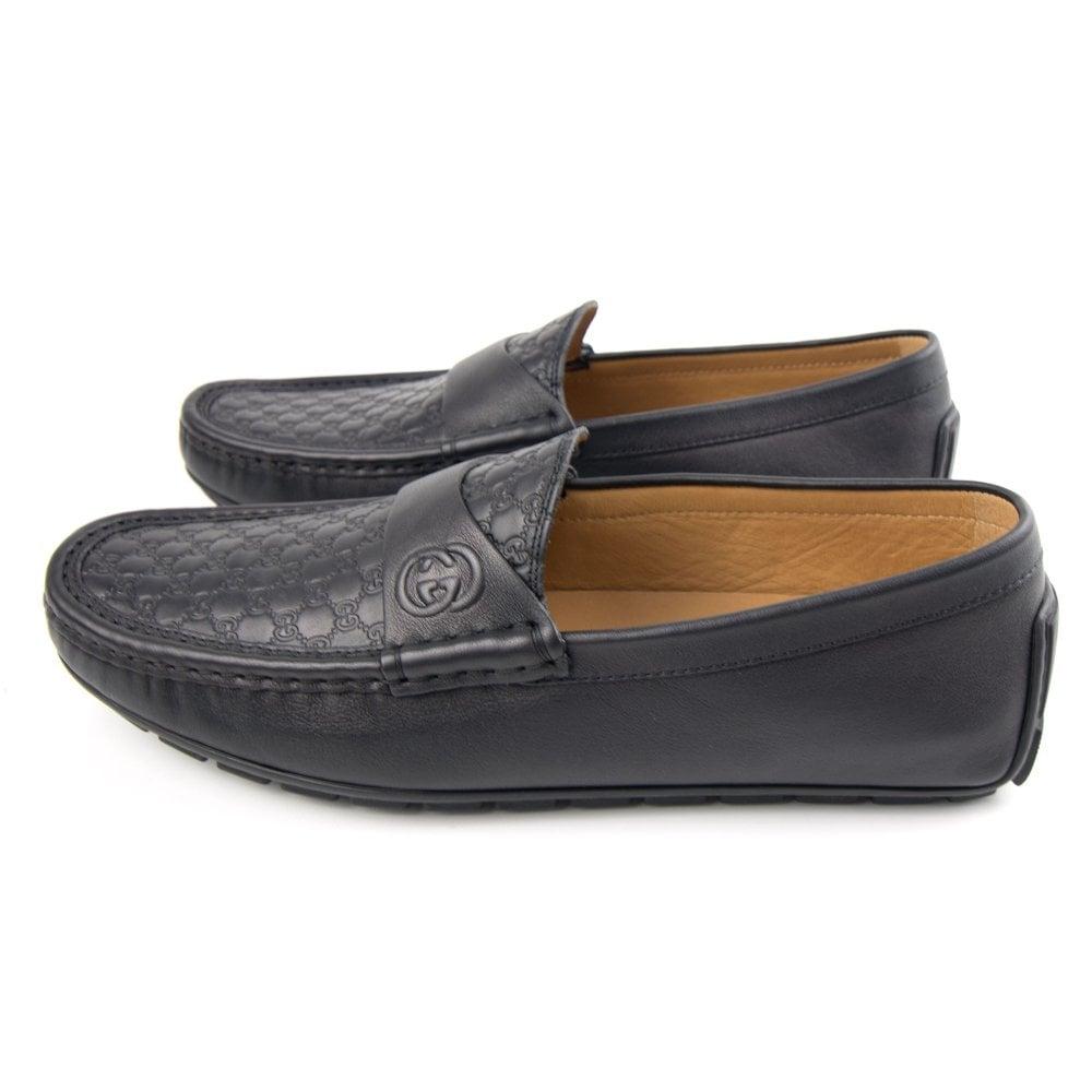 37d7a76d2 Gucci Microsoft GG Driver Loafer Black | ONU