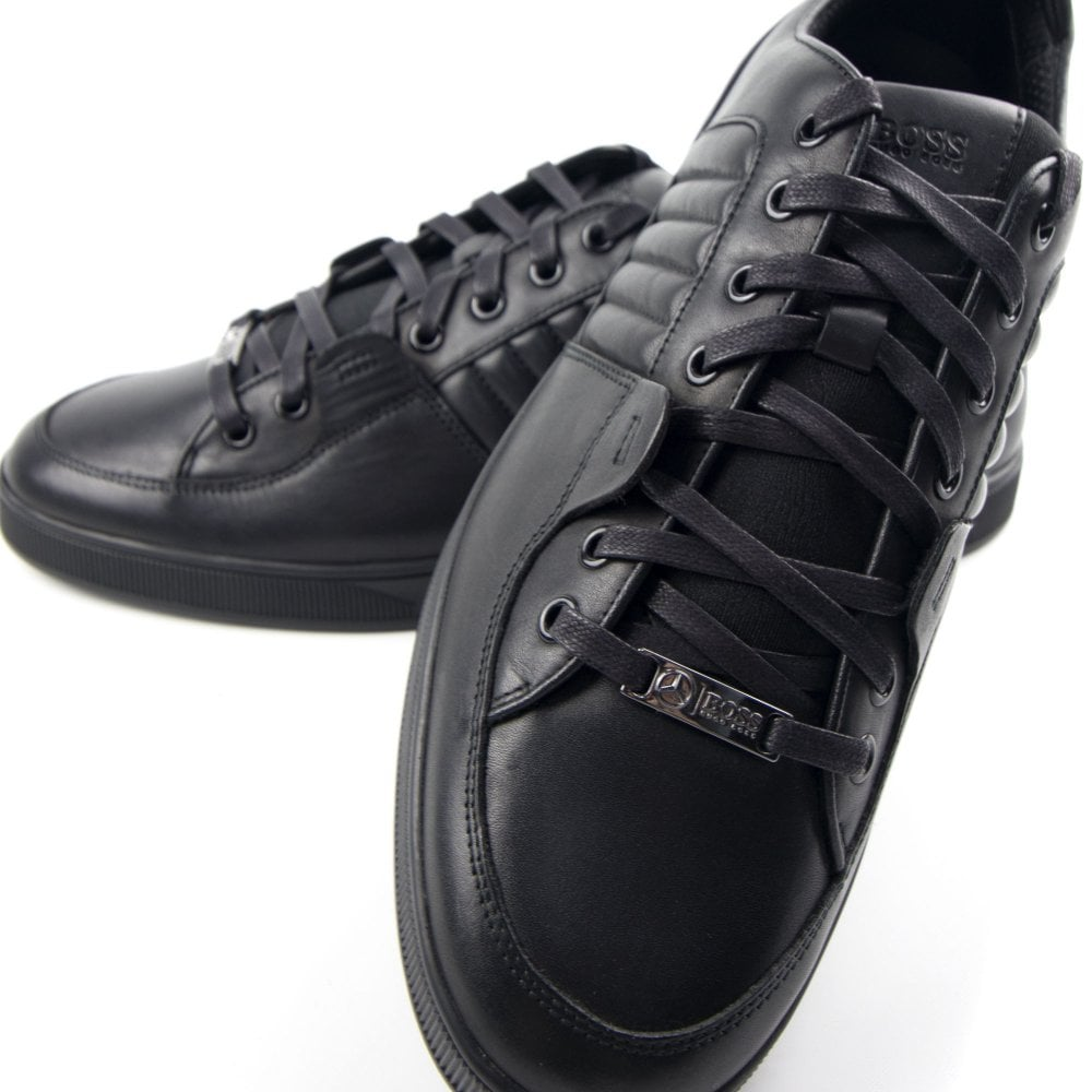602a410823fa Hugo Boss Across Tenn Trainers Black | ONU