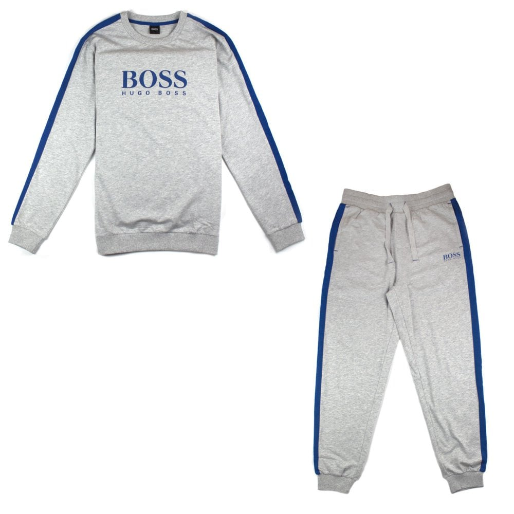 c826c121 Hugo Boss Authentic Sweatshirt Tracksuit Grey | ONU
