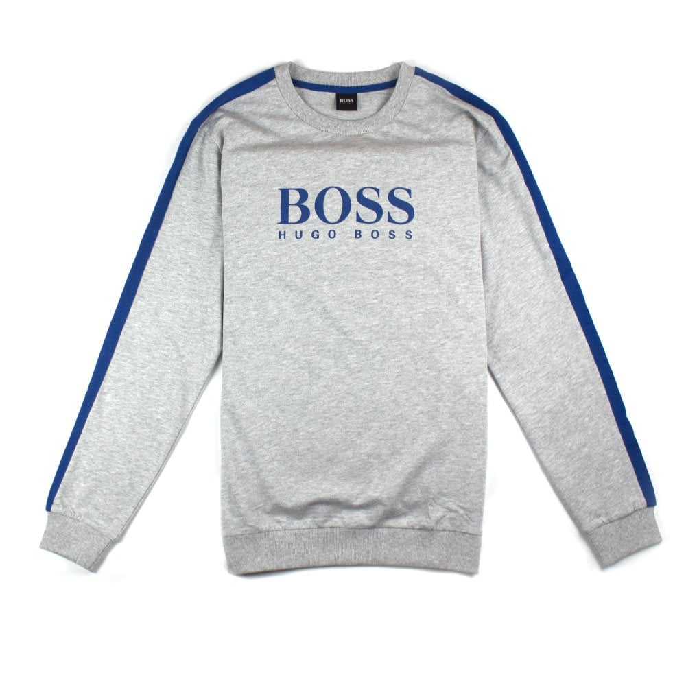 70f8376d8c8 Hugo Boss Authentic Sweatshirt Tracksuit Grey | ONU