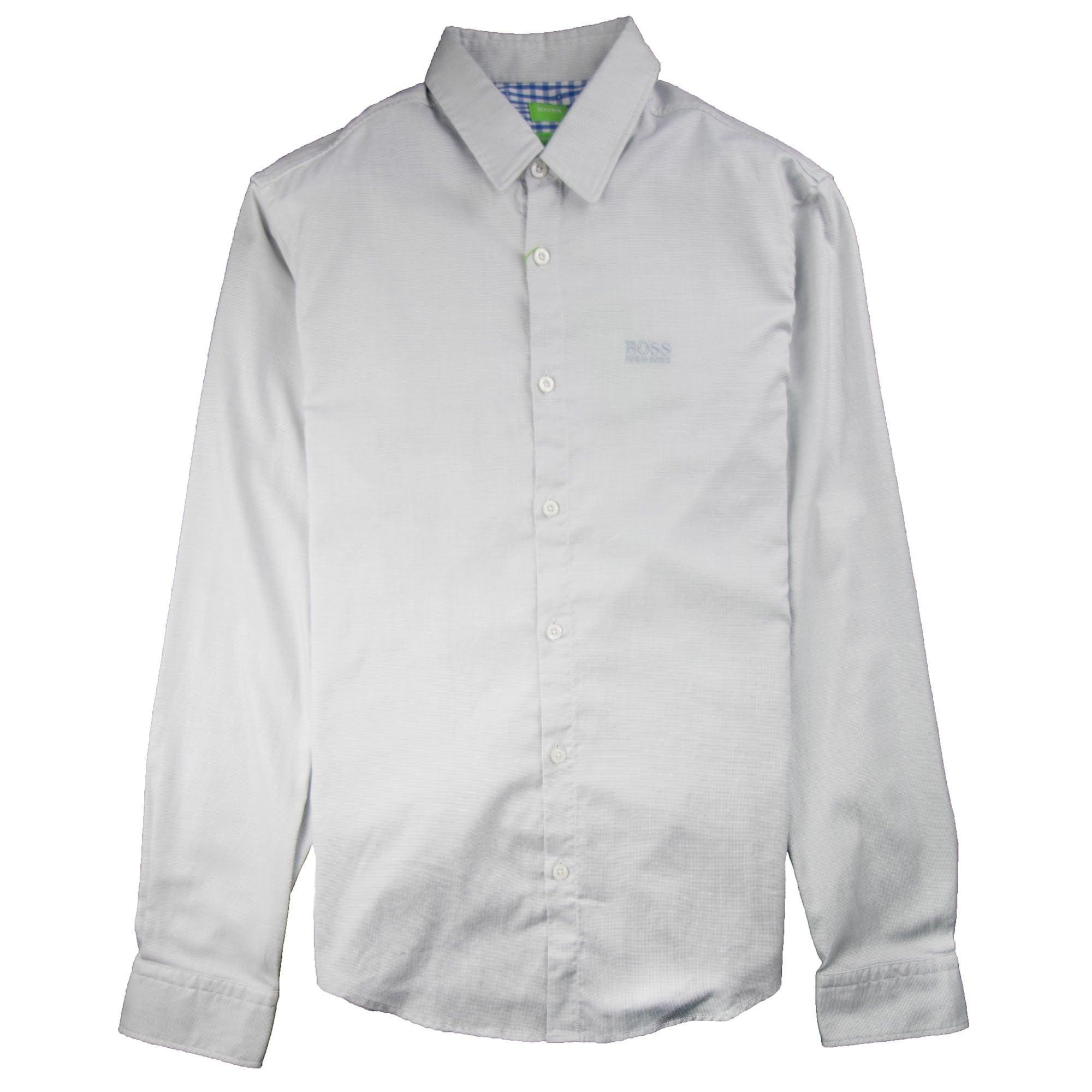 Hugo Boss C-Buster-R Long Sleeve Shirt Grey