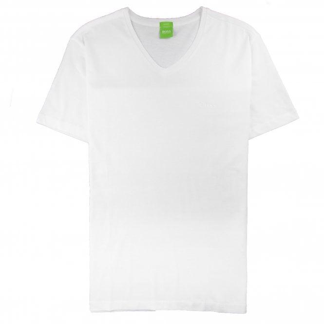 ce1d6b70ebf Hugo Boss C-Canistro 80 V Neck T-Shirt White