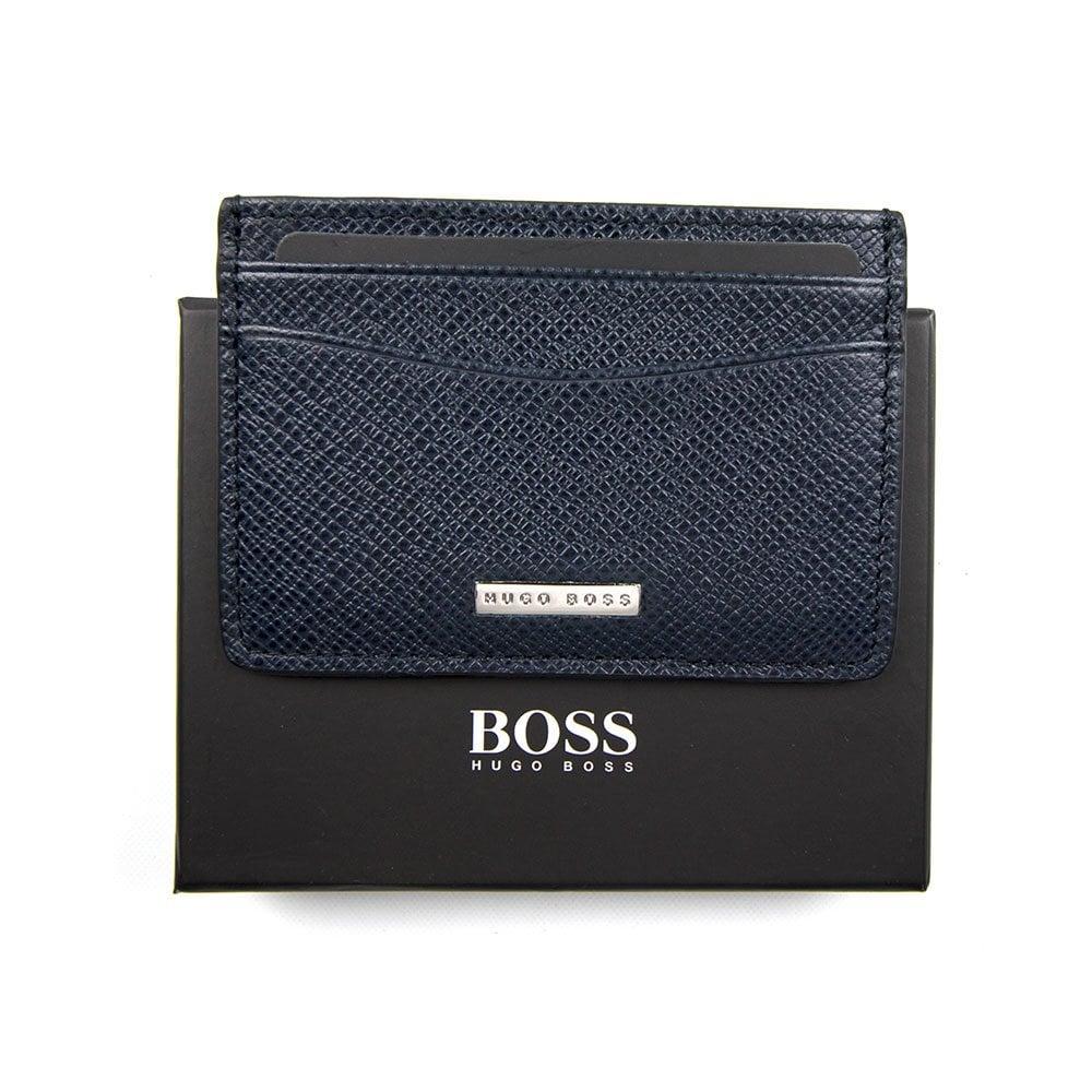 bff95e95d91 Hugo Boss Card Holder Blue | ONU