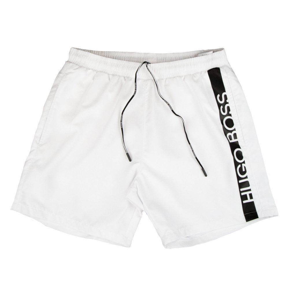 526abe14 Hugo Boss Dolphin Shorts White | ONU