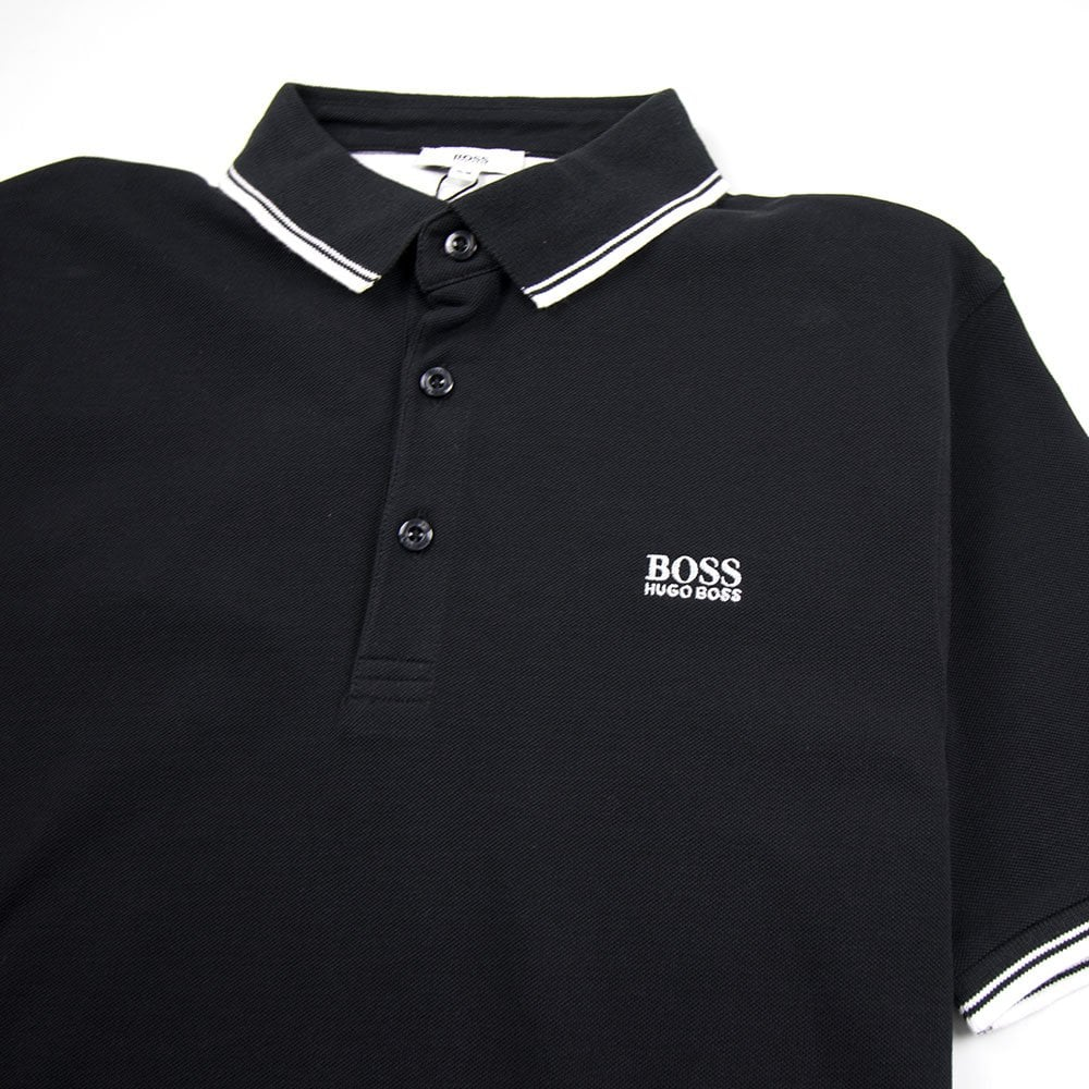 0fee7db0efa Hugo Boss Kids Basic Logo Polo Black