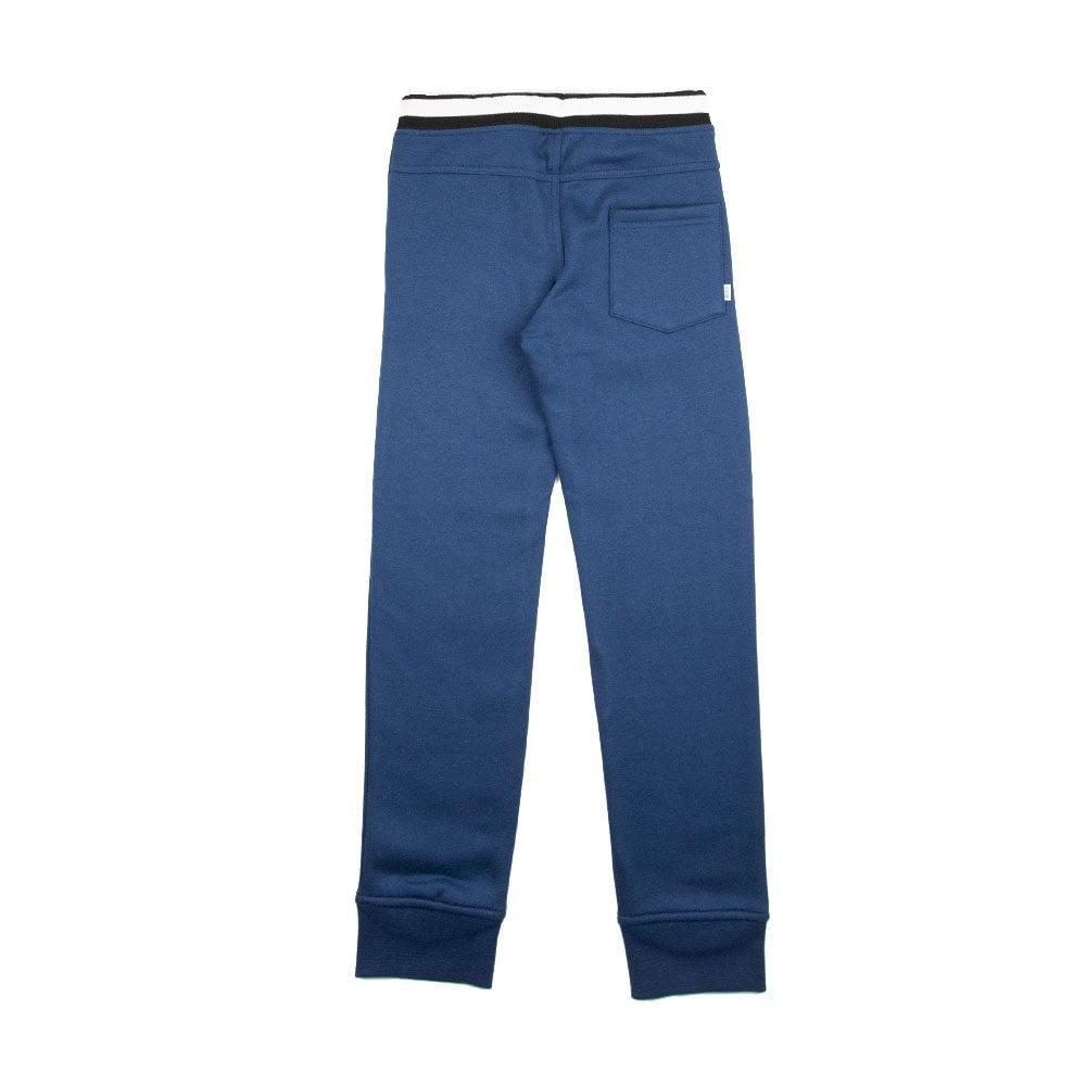 a4e7819e29fb Hugo Boss Kids Fleece Tracksuit Bottoms Blue