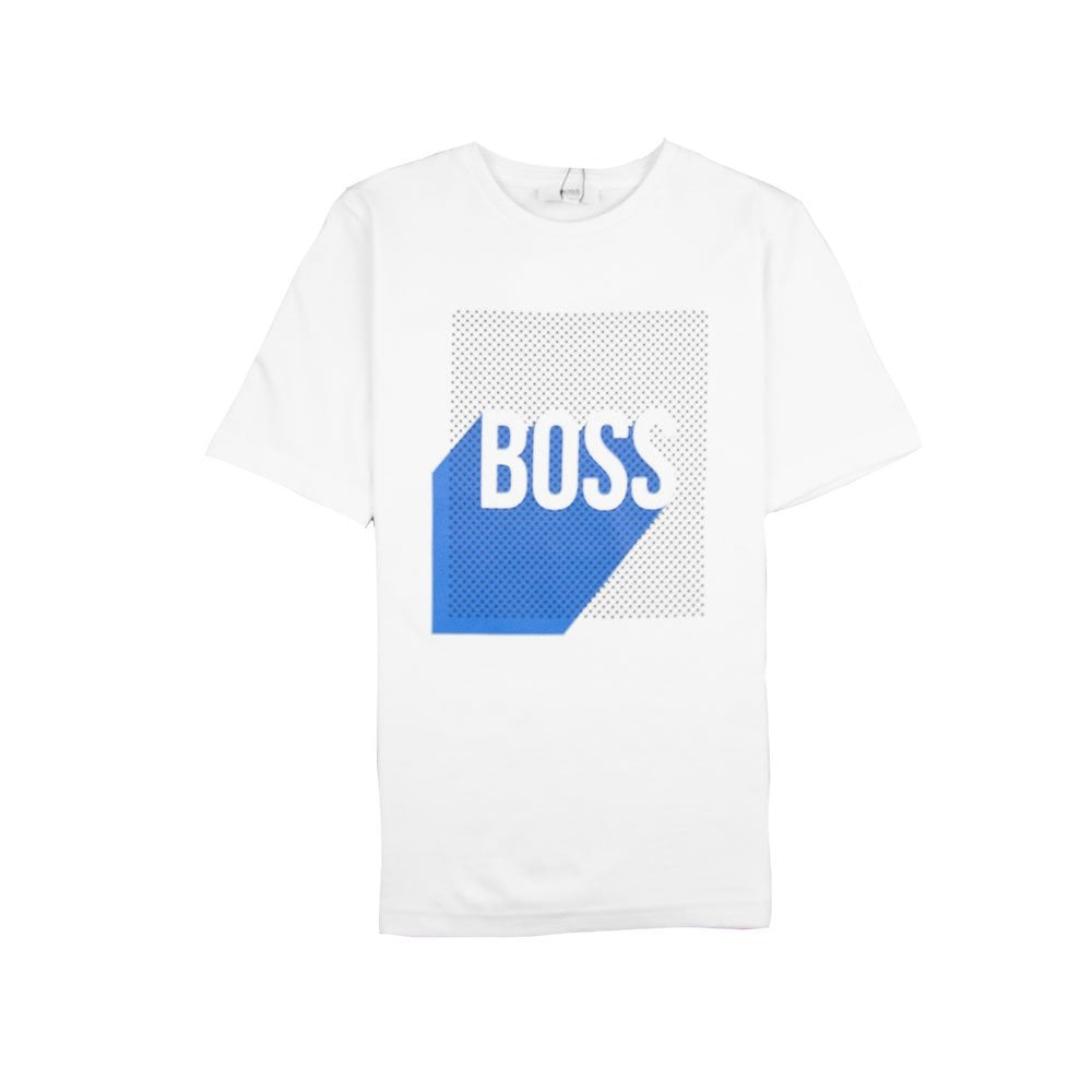 e2fe069e2 Hugo Boss Kids Square Logo T-Shirt White | ONU