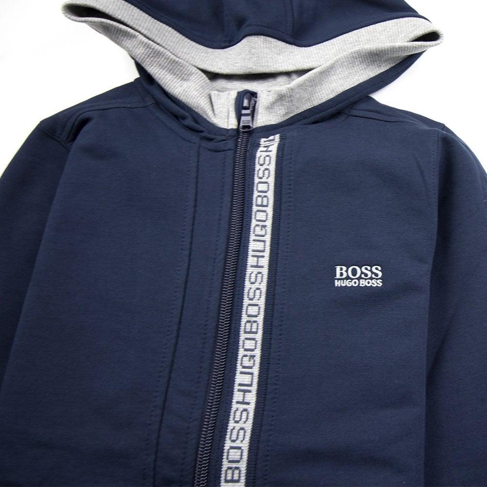 hugo boss sweatshirt zip