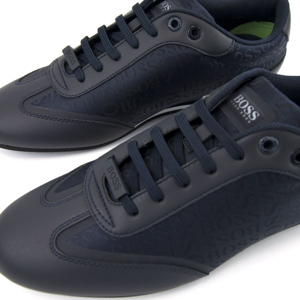 novel style various kinds of aesthetic appearance Lighter Low Trainers Dark Blue