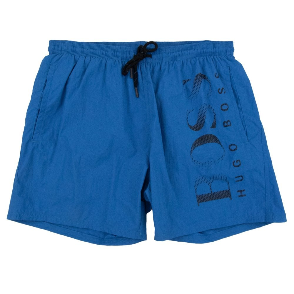 fb193dade1 Hugo Boss Octopus Swim Shorts Blue/Black | ONU