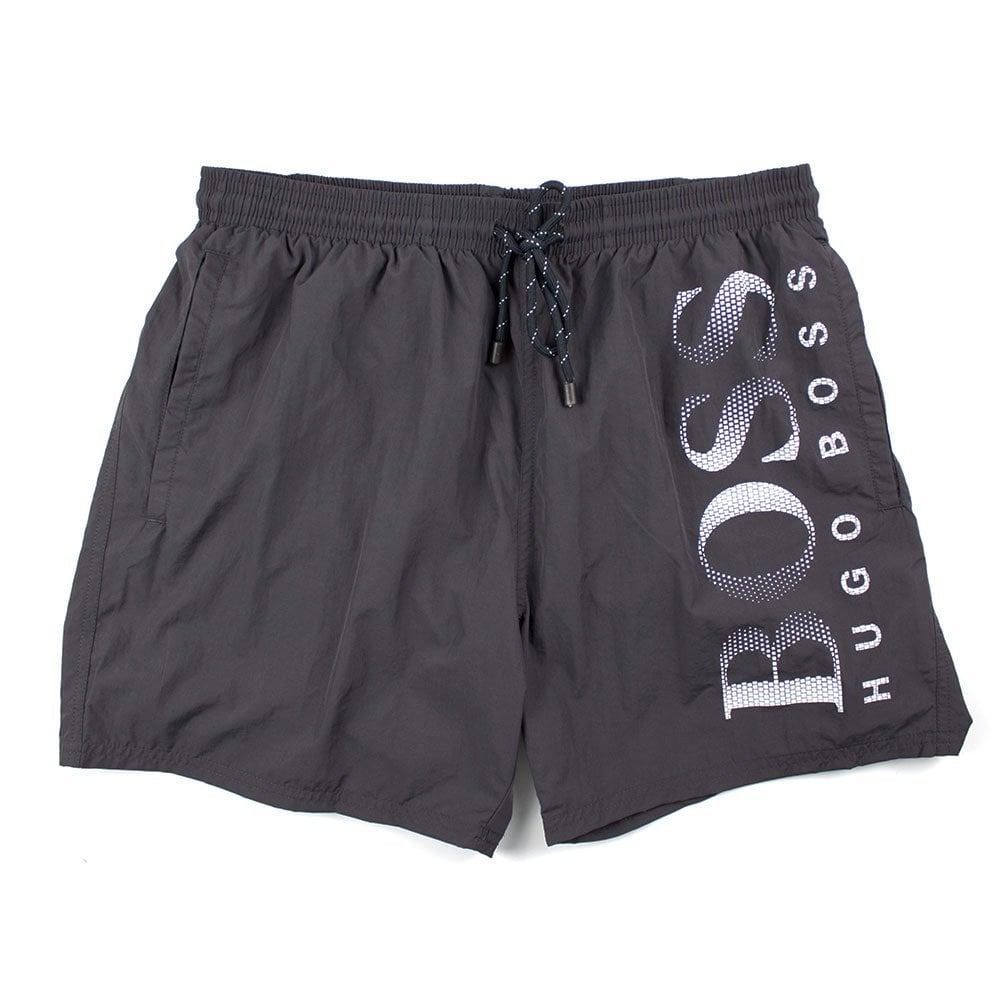1db848d10f Hugo Boss Octopus Swim Shorts Grey | ONU