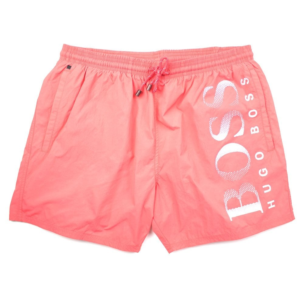b0b5ecf3 Hugo Boss Octopus Swim Shorts Orange | ONU