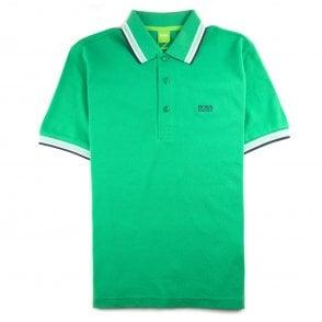 12f5cbca Hugo Boss Paddy Short Sleeve Polo Shirt Electric Blue | ONU