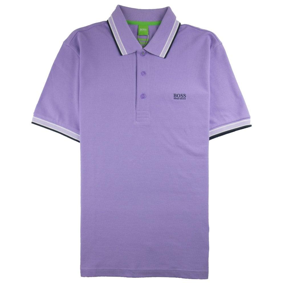 Super Specials neueste attraktive Farbe Paddy Short Sleeve Polo Shirt Lilac
