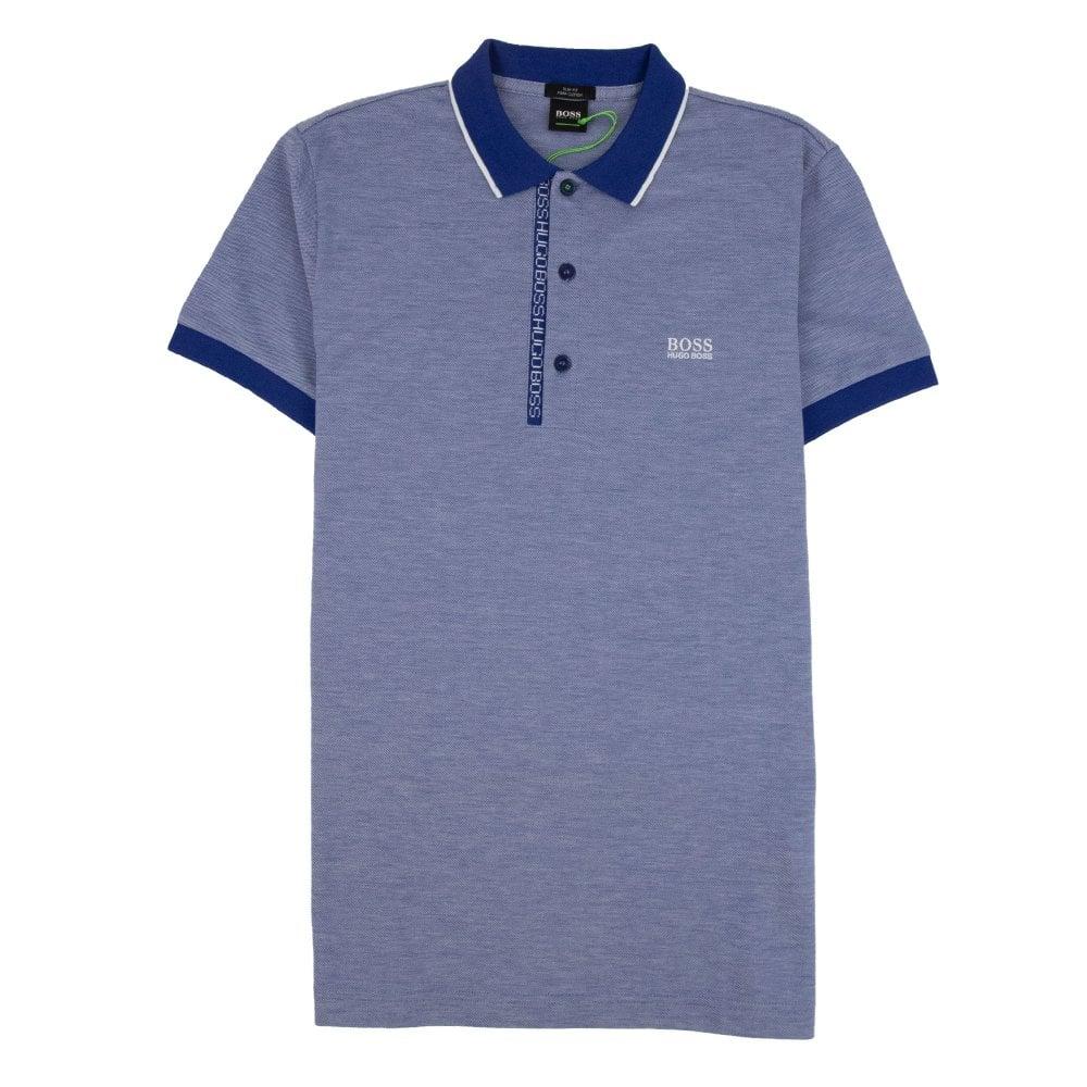 attraktiver Preis verschiedenes Design niedriger Preis Paule 4 Short Sleeve Polo Shirt Blue