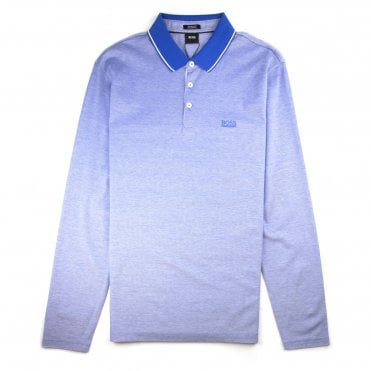 39c8633f9 Hugo Boss Pearl 03 Long Sleeve Polo Baby Blue
