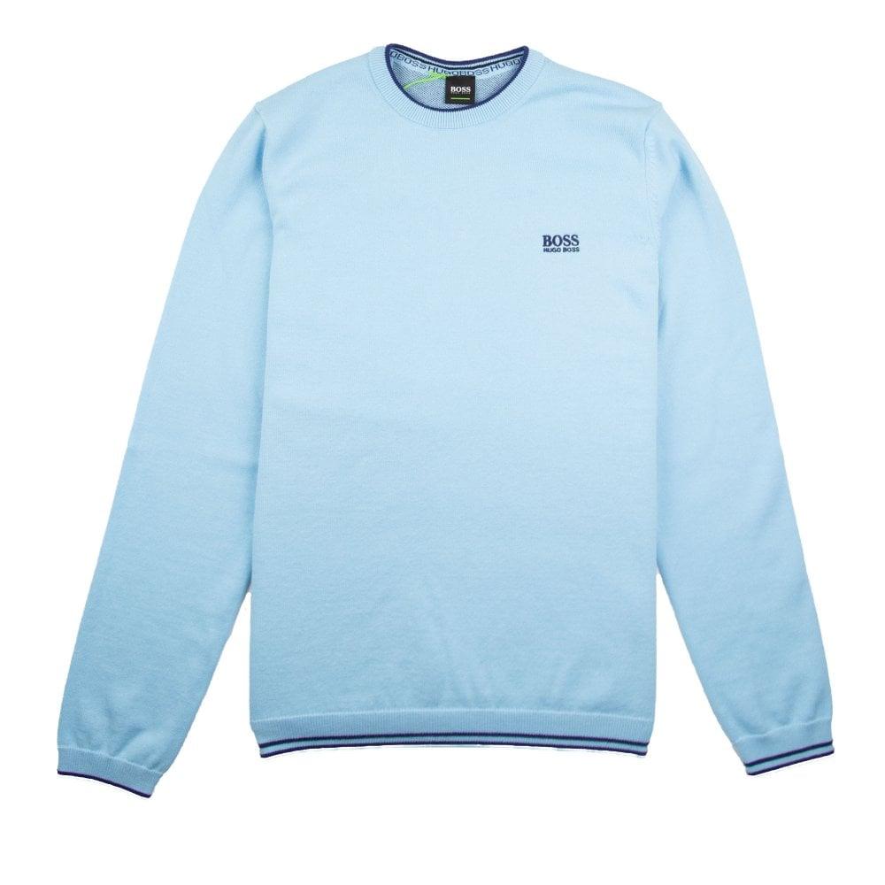 hugo boss sweater blue