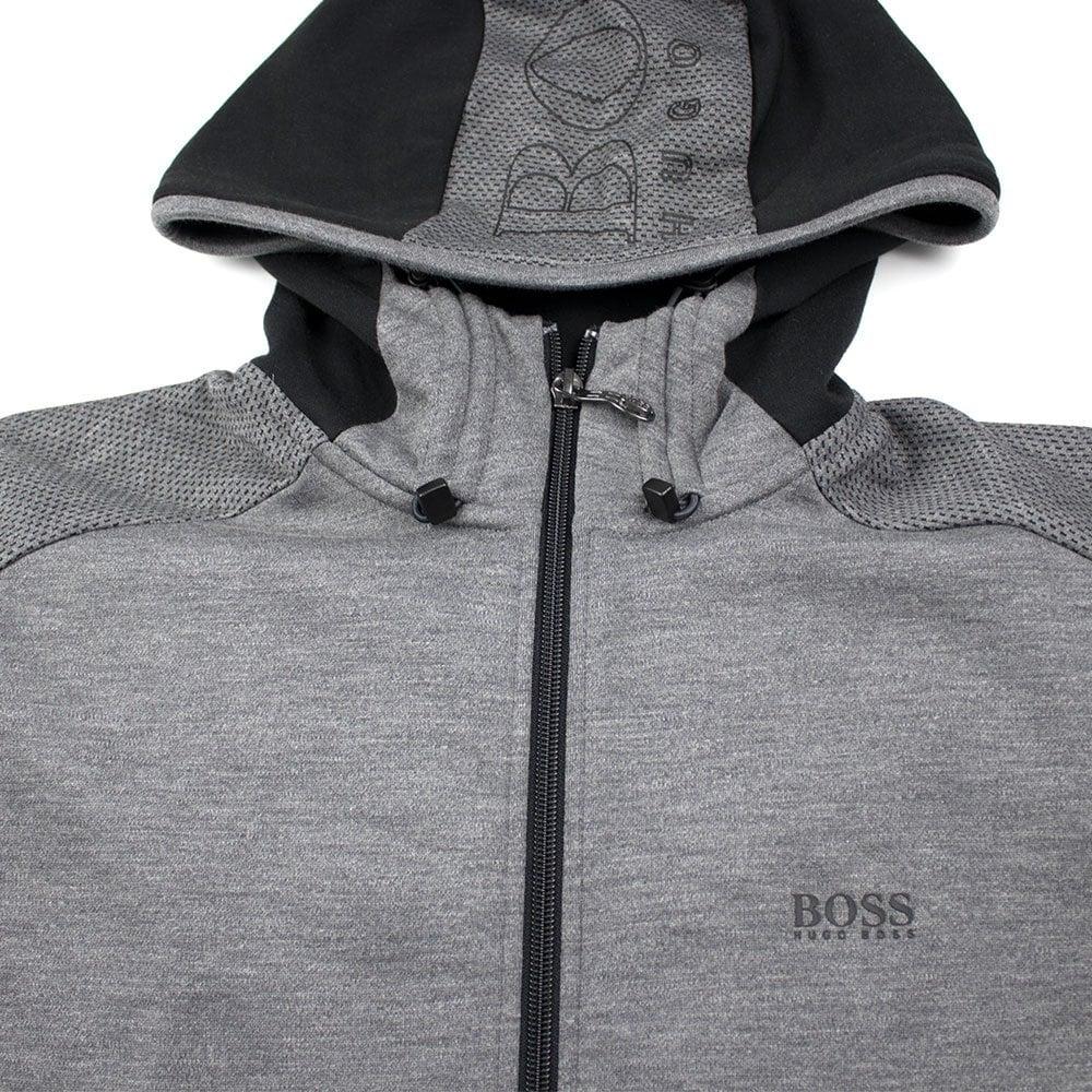 e4c4e4a53 Hugo Boss Selnio Hoody Grey/Black | ONU